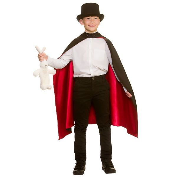 Boys Magicians Cape Costume for Victorian Ripper Fancy Dress